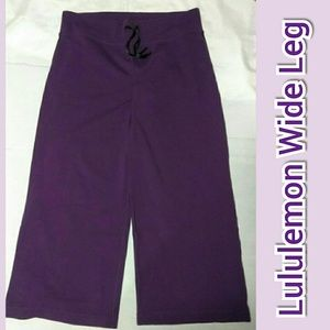 Lululemon Wide Leg Capri Size 6